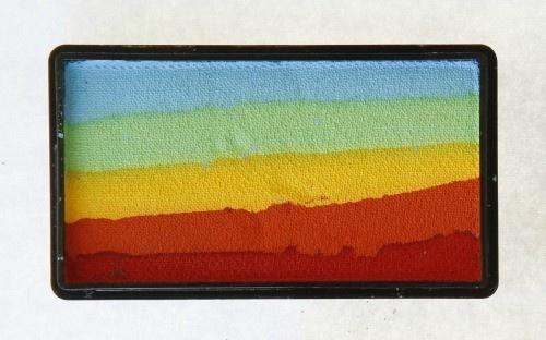Cameleon Face and Body Paint Australia - Rainbow WOW ColourBlock, $15.00 (http://www.cameleonpaint.com.au/rainbow-wow-colourblock/)