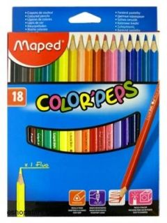 "Pastelky trojhranné MAPED ""COLOR`PEPS"", 24 ks"