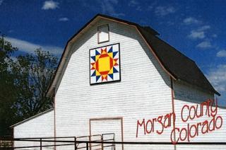 Morgan County Barn Quilts in Colorado: October 2009