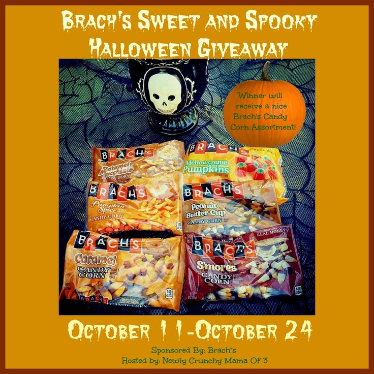 Brach's Candy Corn Sweet and Spooky Halloween Giveaway #Halloween #Sponsored 10/24 - Newly Crunchy Mama Of 3