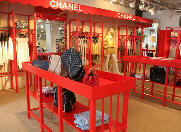 chanel pop up store