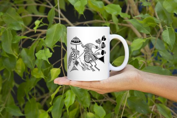 A Vicious Reality of Nature THE TRUE EMPEROR Mug Design by Mggkarthouse  #designer #art #coffee #inkart #indianart #pendesigns #handdesigned #zentangle #abstract #mugs #designer #unique