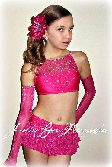 Jordan Grace Princesswear custom dance costumes, jazz costume, jazz solo, dance costume, costume