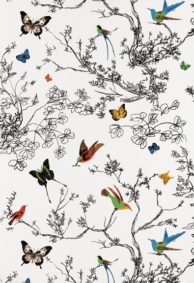 Schumacher Birds and Butterflies