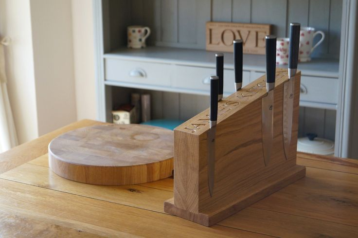 Chef Knives, Knife Racks & Knife Blocks from MakeMeSomethingSpecial.co.uk