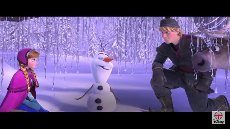 In Summer - Sing Along - (Official Frozen Olaf Song!)