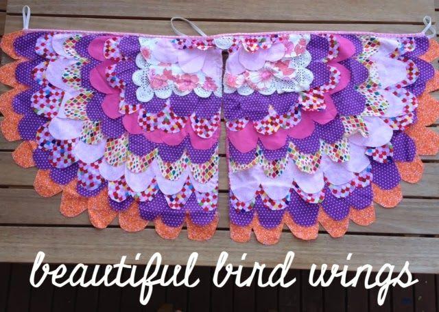 Beautiful bird wings - simmone star