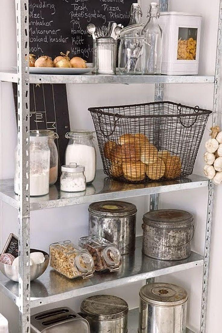 Las 25 mejores ideas sobre organizar la peque a despensa for Ideas para decorar mi cocina pequena