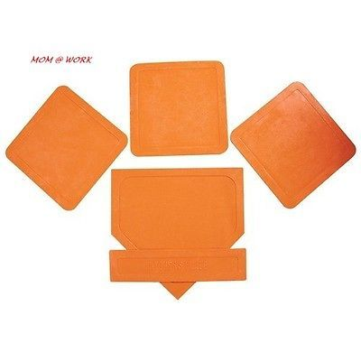 Base Sets and Homeplates 181319: Bsn Orange Throw Down Bases 5 Piece -> BUY IT NOW ONLY: $32.46 on eBay!