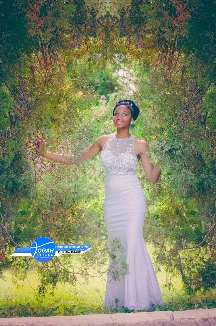 Bride in Garden by Fogah Styles on 500px