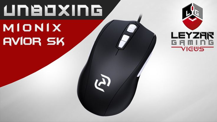 Mionix Avior SK Gaming Mouse Unboxing