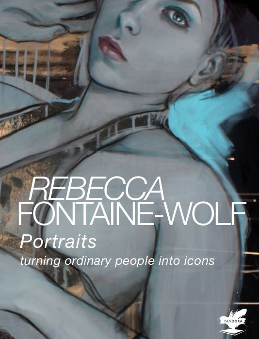 CLICK HERE to discover more about Rebecca Fontaine-Wolf's paintings. Rebecca Fontaine-Wolf's iBook 'Portraits:Turning Ordinary People into Icons' is available to download straight to your iPad or Mac via iBooks from here: https://itunes.apple.com/gb/book/portraits/id744824461?mt=11 £4.99