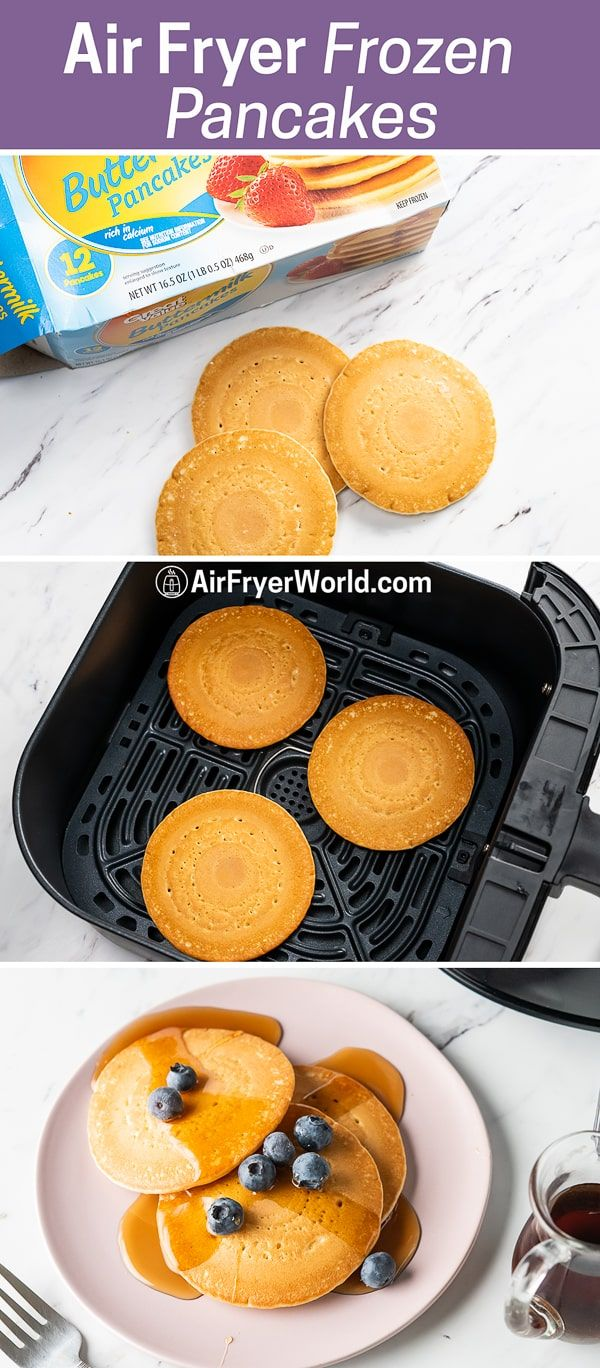 Air Fryer Frozen Pancakes HOW TO COOK EASY Air Fryer