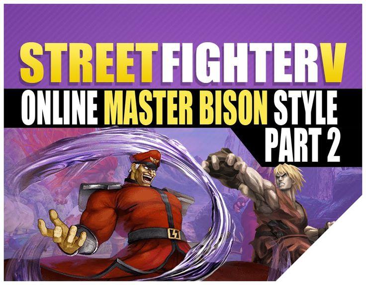 street fighter 5 Gameplay Street Fighter V Online SFV Ken vs M.Bison. In this series of Street Fighter 5 Gameplay, I will be playing some Street Fighter V On...