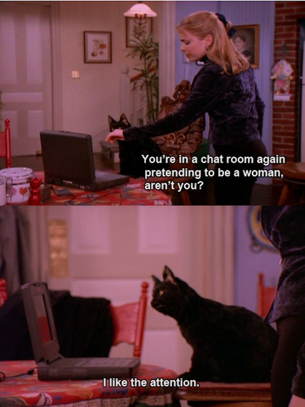 The 40 Greatest Things Ever Said By Salem Saberhagen. Favorite character on my favorite show ever.