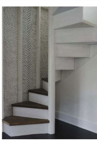 Attic Conversions...I'm wondering if I could soften my metal spiral staircase with wood steps