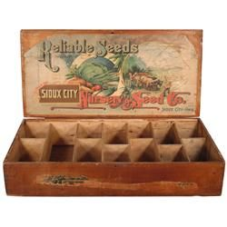 11 best seed box images on pinterest vintage seed for Craft stores in sioux city iowa