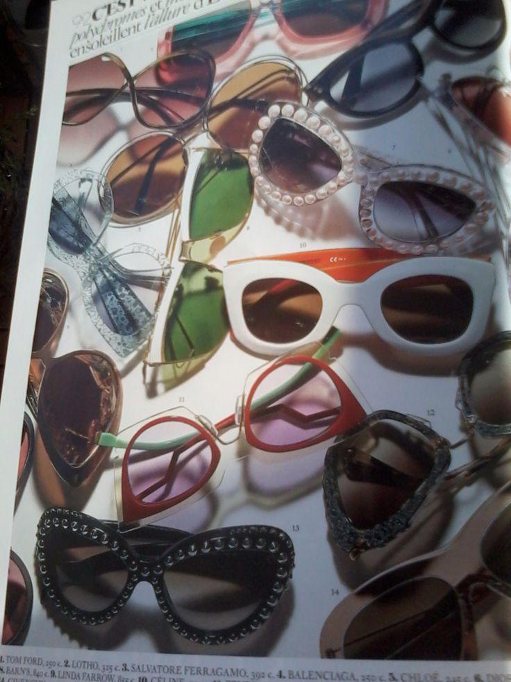Nice....Beauty...SunGlasses. Like. U? VOGUE.com