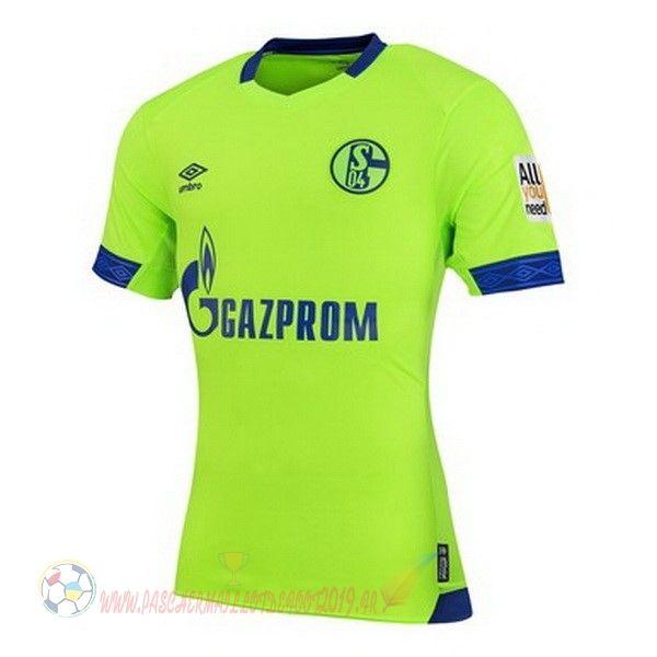 Destockage Maillot De Foot Umbro Third Maillots Schalke 04 2018 2019 Vert With Images Mens Tops Mens Polo Shirts Shirts