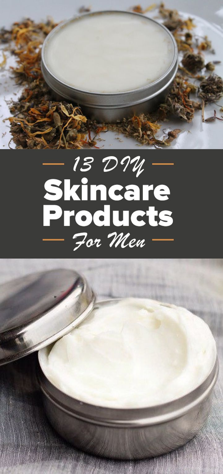 13 essential DIY beauty products every man needs