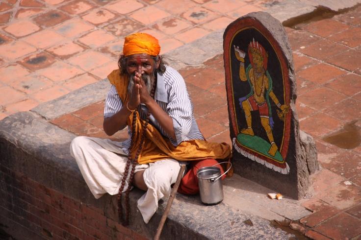 Saddhu in KatmanduGouru Sadhou, Religious Icons, Saddhu Katmandhu