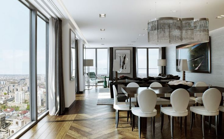 """This is the first major residential development in the City of London, The Heron has a number of """"panoramic"""" apartments on its upper level. Guide Price: 3.5 Million"""