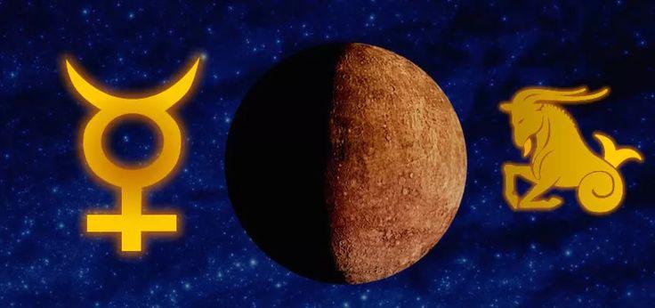 A Spasso con Le Stelle Mercurio in Capricorno