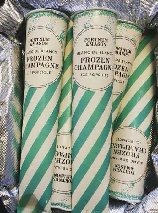 This would be fun to have in the freezer