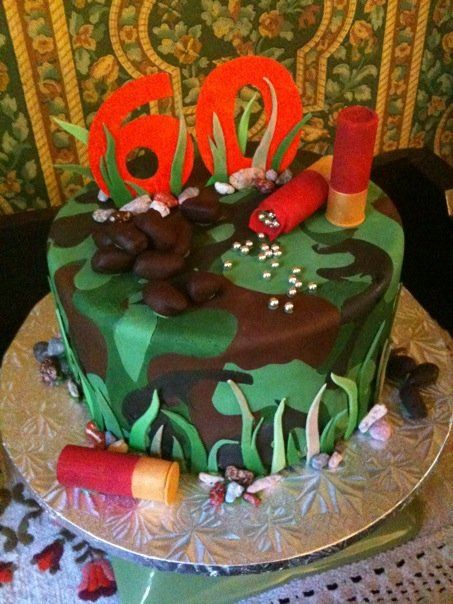 The Firearm Blog » Shotgun Birthday Cake  Change to archery for dad's birthday?