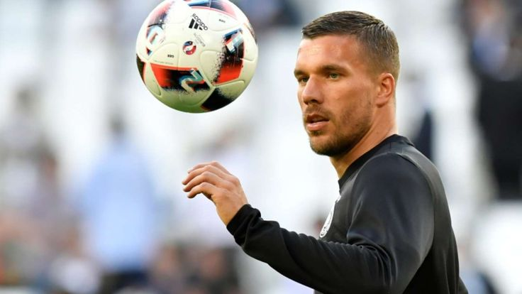 Lukas Podolski: Former Arsenal star joins Japan's Vissel Kobe