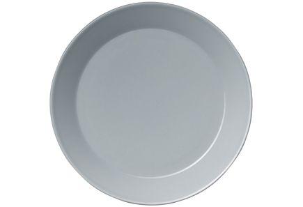 Iittala Teema lautanen 21 cm, helmenharmaa. Yksikin kpl riittää :)