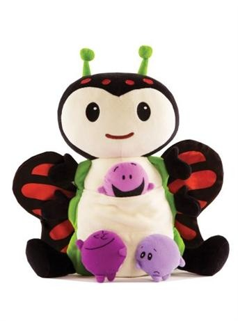 Kimochis - Bug    Price: $49.95    Description:    Kimochis are so much more than a gorgeous stuffed animal!  They help to teach children about their feelings and how to manage them!    Bug is thoughtful and is extremely cautious. He is really smart, a skilled conversationalist and is known to talk himself and others out of any given situation, because he likes to examine all sides. This can sometimes confuse the Kimochis® and make them forget what they were trying to accomplish.