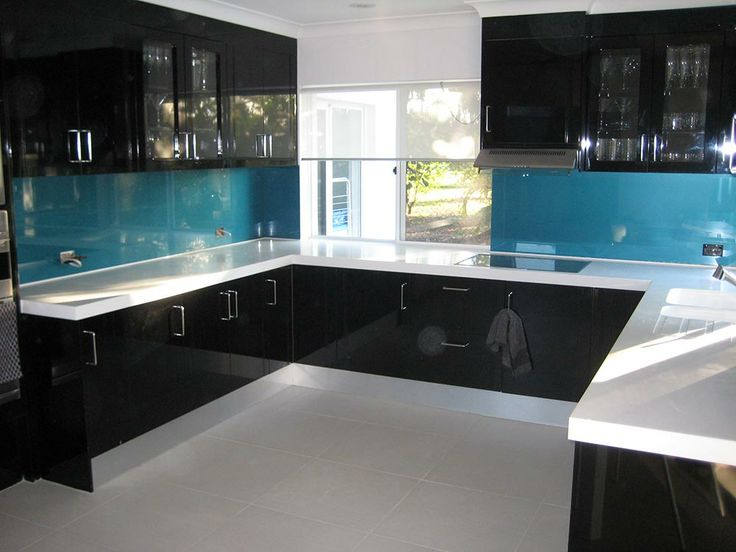 Kitchen Backsplash Glass 43 best splashback - glass & stone images on pinterest | kitchen