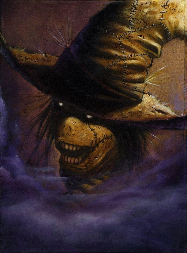 136 best Scarecrow images on Pinterest | Scarecrow batman ...