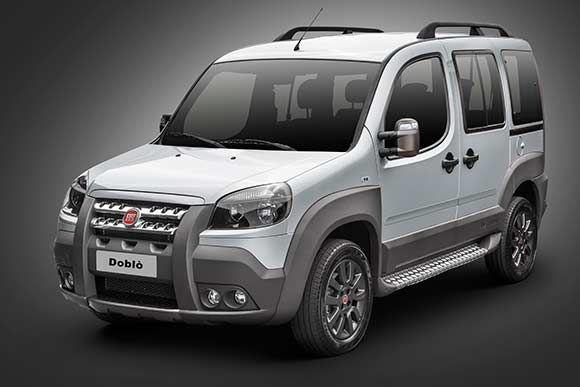 Ficha técnica completa do Fiat Doblo Adventure 2017