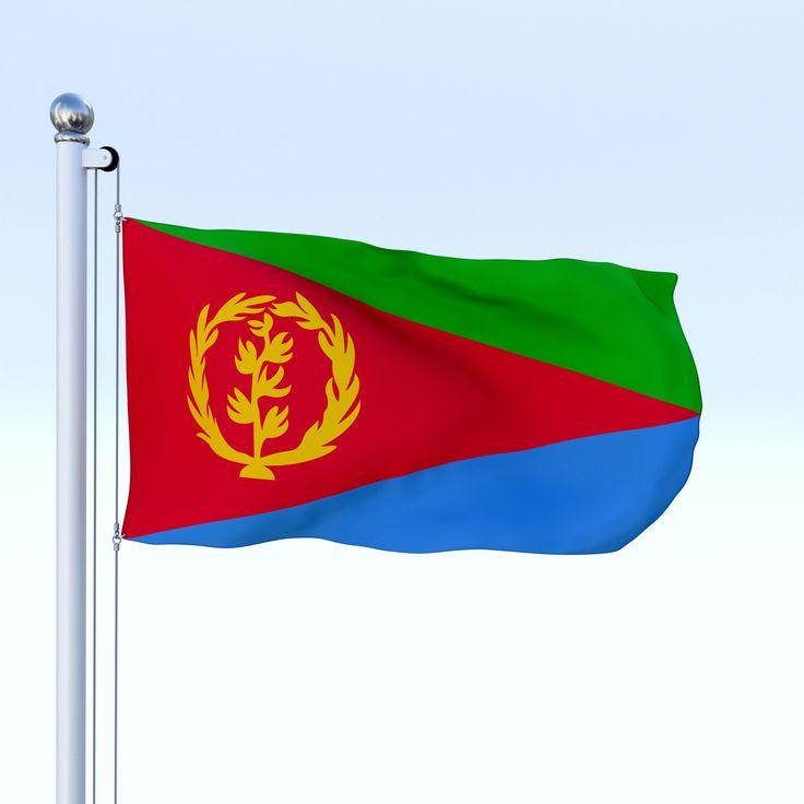Download Animated Eritrea Flag | Eritrea flag, Eritrean flag, Animation