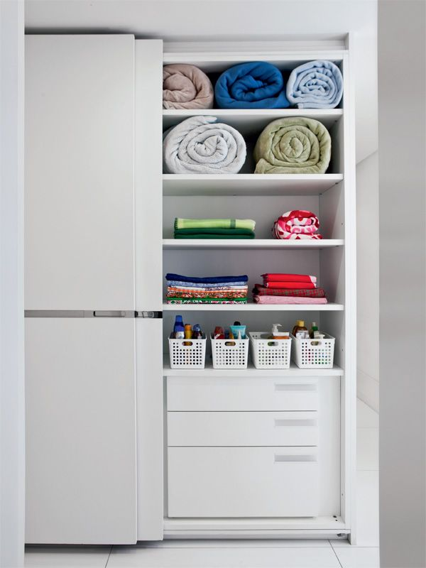 Um closet organizado facilita seu dia a dia