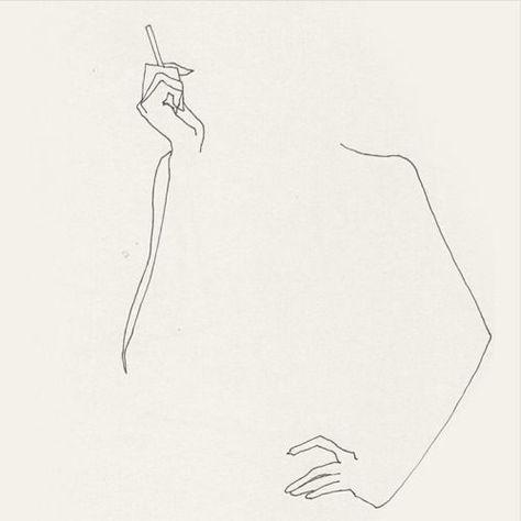 Frederic Forest Line Art Minimal Illustration