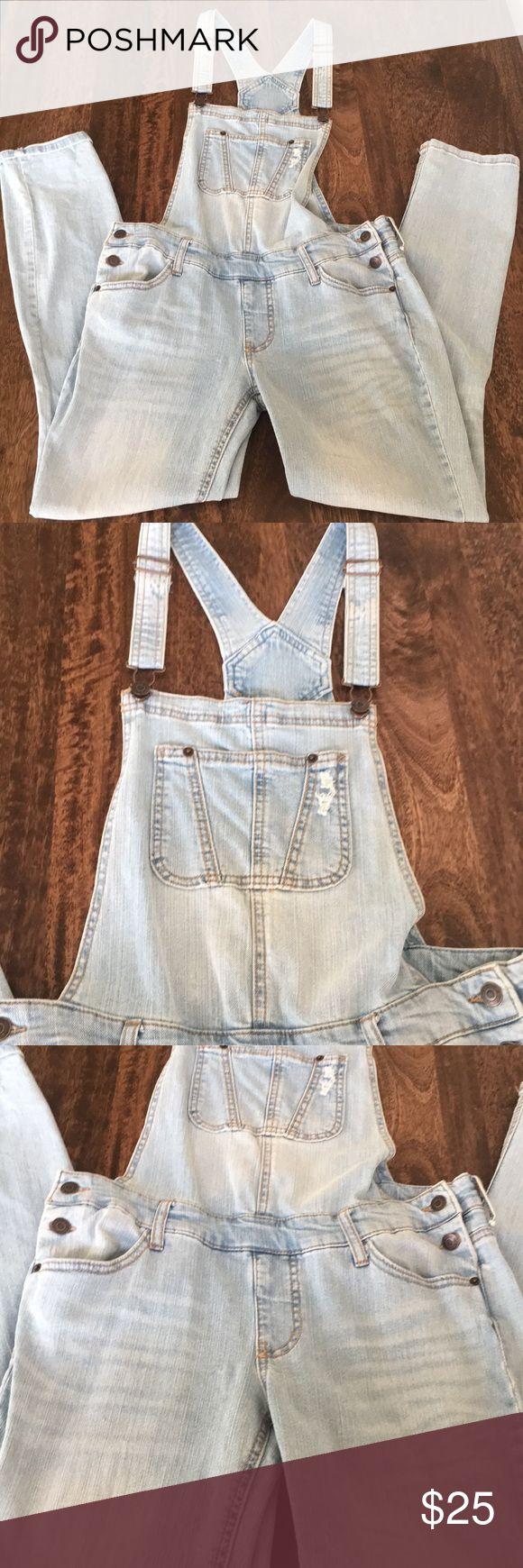 Denim Overall -Size-Small  -99% Cotton 1% Spandex -Stretch Jeans Overalls