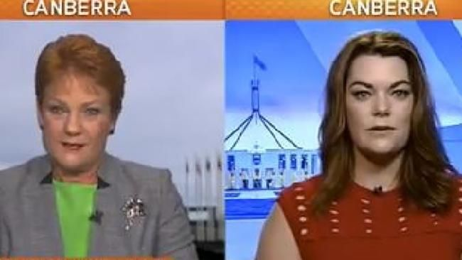 Pauline Hanson's Sunrise climate clash with Sarah Hanson-Young - Perth Now #757Live