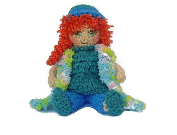 Crochet Doll Amigurumi Doll Stuffed Toy Crochet by CRAZYBOOM