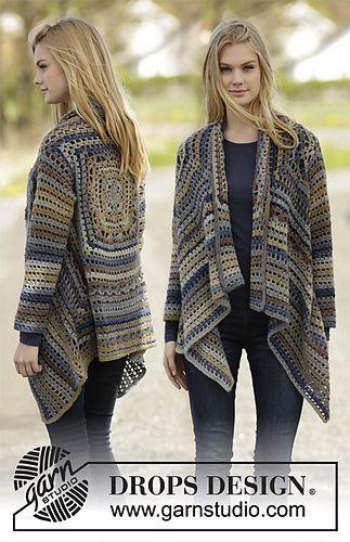 Autumn Delight crochet sweater... Free pattern!!