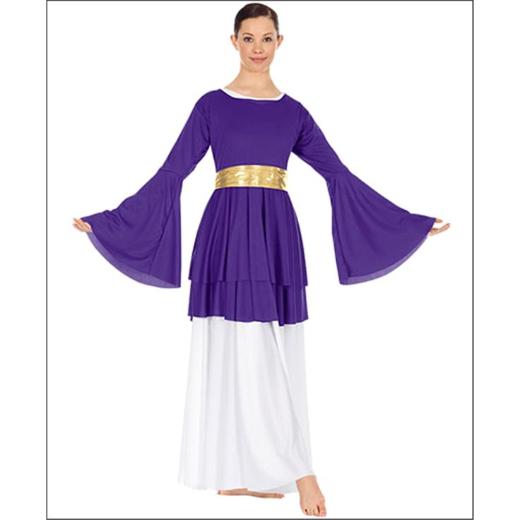 Double Layer Peplum Top by On Stage : Euro-13813, On Stage Dancewear, Capezio Authorized Dealer.