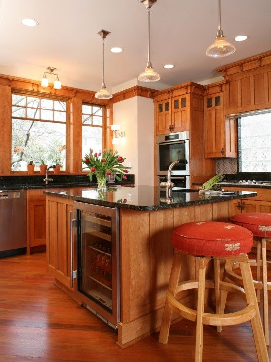 Craftsman Style Kitchen Cabinets Design, Pictures, Remodel, Decor And Ideas    Page 4