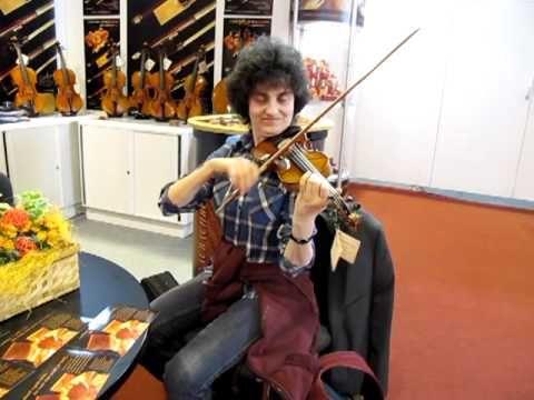 Violin Laubach LIM 808 1/4 Frankfutermusikmesse 2012
