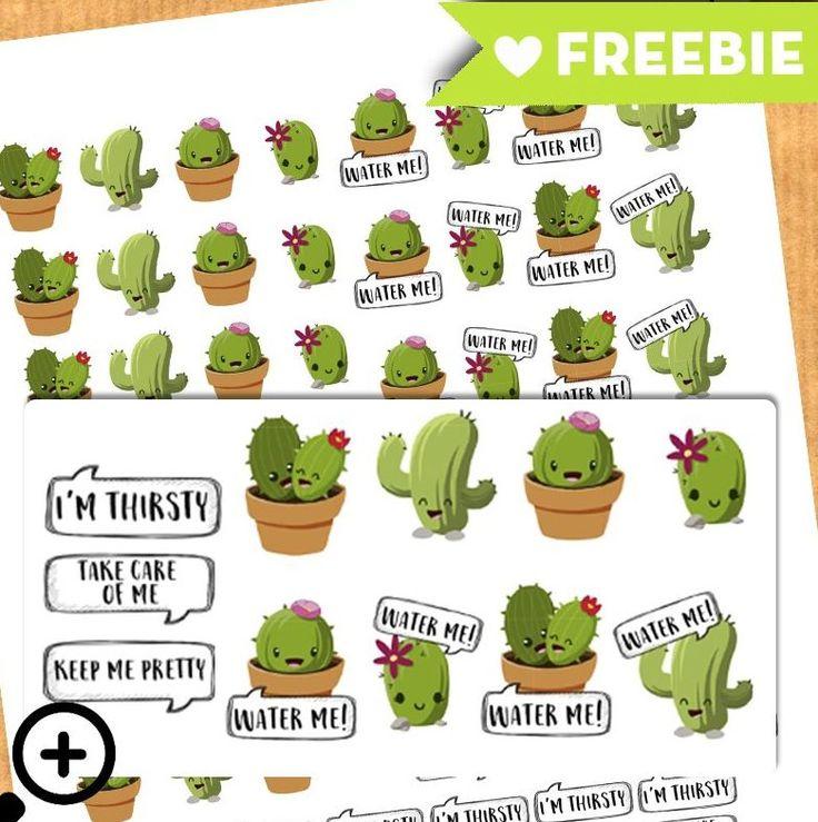 Cactus stickers header