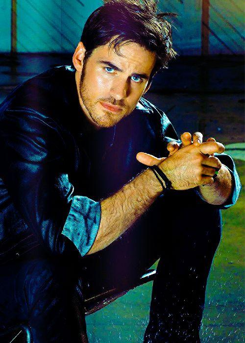 Once upon a time - Captain Hook - Colin O'donoghue - Killian Jones  #OUAT