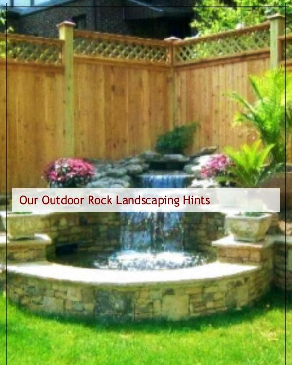 Great Rock Landscape Ideas Backyard Landscaping With Rocks With