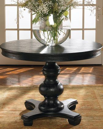 """Horchow, Brynmore Round Table, 42"""" dia x 31"""" high, $859"""