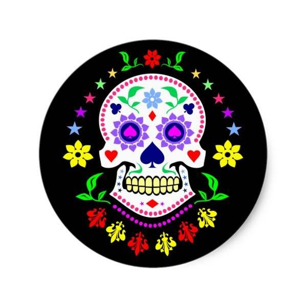 "http://ift.tt/2tGyBqm Shop https://goo.gl/kGXErS   Colorful Mexican Day of the Dead Sugar Skull Classic Round Sticker    This design features a multicolored Mexican ""Dia de los Muertos"" or ""Day of the Dead"" Sugar Skull design.  The skull is decorated with playing card suits - spades clubs hearts and...  Go To Store  https://goo.gl/kGXErS  #Calavera #ColorfulDecorativeSkulls #DayOfTheDead #DecoratedSkulls #DiaDeLosDifuntos #DiaDeLosMuertos #Gothic #Mexican #Mexico #SugarSkullDesigns…"